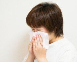 くしゃみ 鼻水が止まらない!アレルギー性鼻炎の原因と症状は?