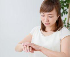 手の甲の血管が浮き出るハンドベイン5つの原因とは!?