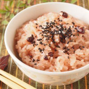 お祝にお赤飯を食べる由来や意味を知ってる?赤飯の栄養素や作り方は?