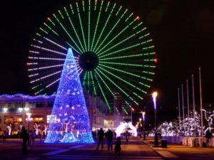 2019年大阪 遊園地 水族館 テーマパークのクリスマスイルミネーション情報